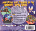 Sonic Shuffle Dreamcast Back Cover