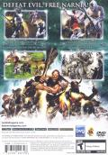 The Chronicles of Narnia: The Lion, the Witch and the Wardrobe PlayStation 2 Back Cover