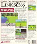 Links 386 Pro DOS Back Cover