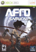 Afro Samurai Xbox 360 Other Keep Case - Front