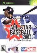All-Star Baseball 2003 Xbox Front Cover