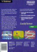 Deadly Towers NES Back Cover