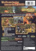 Cabela's Dangerous Hunts Xbox Back Cover