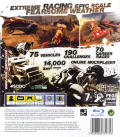FUEL PlayStation 3 Back Cover