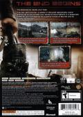 Terminator: Salvation Xbox 360 Back Cover