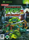 Teenage Mutant Ninja Turtles 2: Battle Nexus Xbox Front Cover