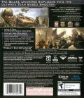 Enemy Territory: Quake Wars PlayStation 3 Back Cover