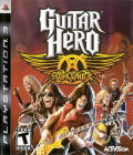 Guitar Hero: Aerosmith PlayStation 3 Front Cover