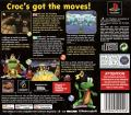 Croc: Legend of the Gobbos PlayStation Back Cover