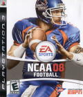 NCAA Football 08 PlayStation 3 Front Cover