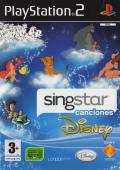 SingStar Singalong with Disney PlayStation 2 Front Cover