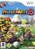 Mario Party 8 Wii Front Cover