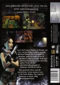 Lara Croft Tomb Raider: The Angel of Darkness Windows Back Cover