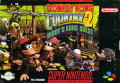 Donkey Kong Country 2: Diddy's Kong Quest SNES Front Cover