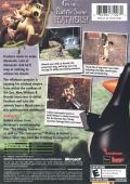 Wallace & Gromit in Project Zoo Xbox Back Cover