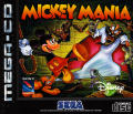 Mickey Mania SEGA CD Front Cover