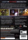 Sacred 2: Fallen Angel Xbox 360 Back Cover