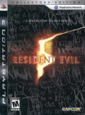 Resident Evil 5 (Collector's Edition) PlayStation 3 Front Cover