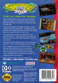 Battletoads & Double Dragon: The Ultimate Team Genesis Back Cover