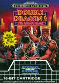 Double Dragon III: The Sacred Stones Genesis Front Cover