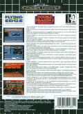 Double Dragon III: The Sacred Stones Genesis Back Cover