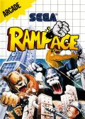 Rampage SEGA Master System Front Cover