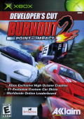 Burnout 2: Point of Impact Xbox Front Cover