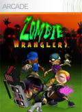 Zombie Wranglers Xbox 360 Front Cover