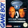 Star Trek: Generations - Beyond the Nexus Game Boy Front Cover