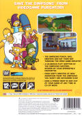 The Simpsons Game PlayStation 2 Back Cover