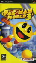 Pac-Man World 3 PSP Front Cover