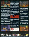 Blood DOS Back Cover