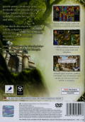 Puzzle Quest: Challenge of the Warlords PlayStation 2 Back Cover