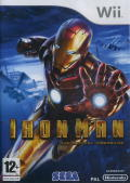 Iron Man Wii Front Cover