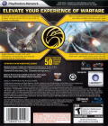 Tom Clancy's H.A.W.X PlayStation 3 Back Cover