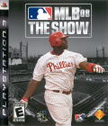 MLB 08: The Show PlayStation 3 Front Cover