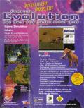 Evolution: The Game of Intelligent Life Windows Back Cover