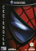 Spider-Man: The Movie GameCube Front Cover