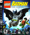 LEGO Batman: The Videogame PlayStation 3 Front Cover