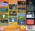 Bubsy 3D PlayStation Back Cover