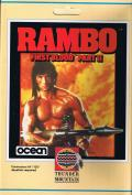 Rambo: First Blood Part II Commodore 64 Front Cover