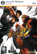 Street Fighter IV Windows Front Cover