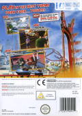Thrillville: Off the Rails Wii Back Cover