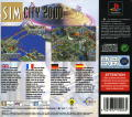 SimCity 2000 PlayStation Back Cover
