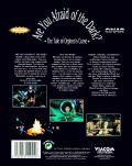 Are You Afraid of the Dark? The Tale of Orpheo's Curse DOS Back Cover
