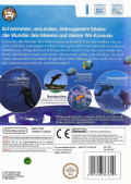 Endless Ocean Wii Back Cover