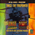 Desert Strike and Jungle Strike DOS Other Jewel Case - Front