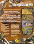 WarCommander Windows Back Cover