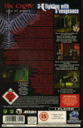 The Crow: City of Angels SEGA Saturn Back Cover