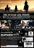 Call of Juarez: Bound in Blood Xbox 360 Back Cover